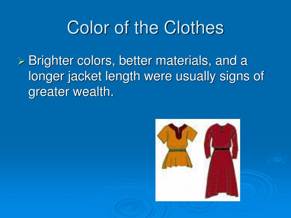Color of the Clothes