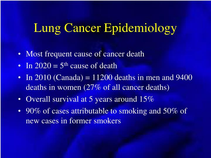 Lung cancer epidemiology l.jpg