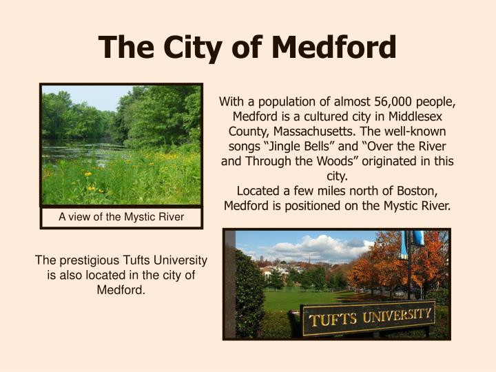The city of medford