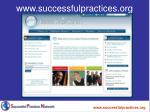 www successfulpractices org