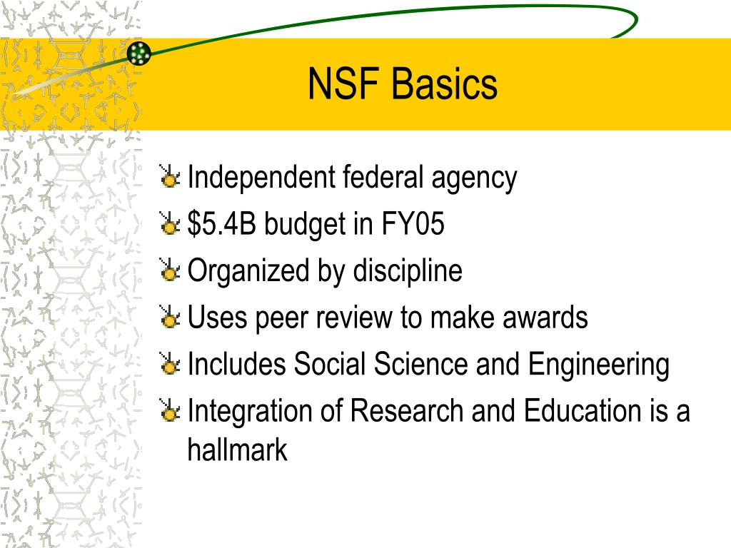 NSF Basics