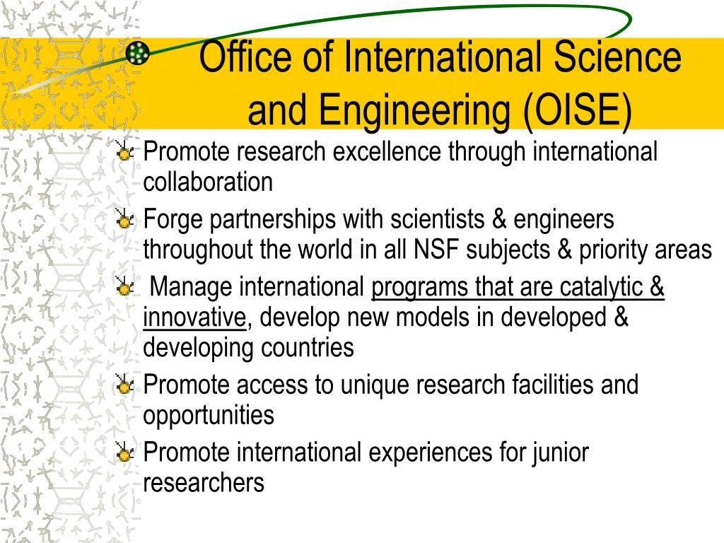 Office of International Science