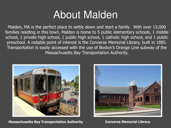 About malden