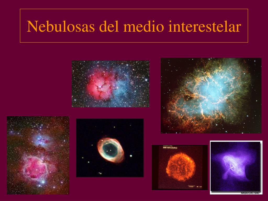 Nebulosas del medio interestelar