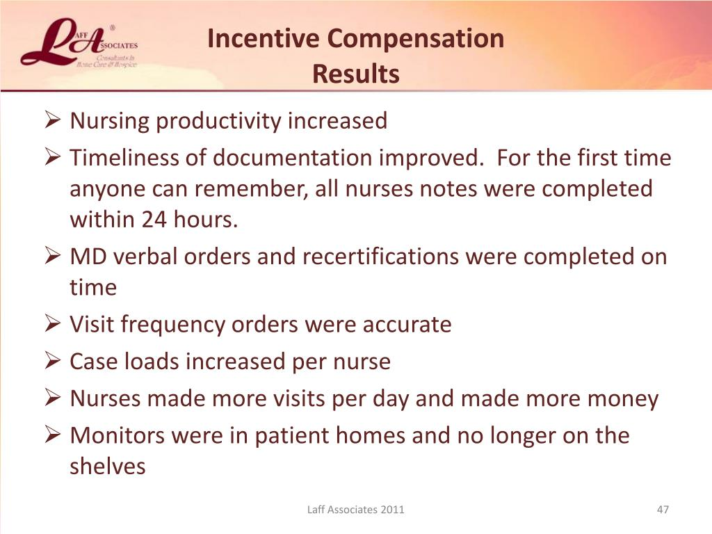 Incentive Compensation