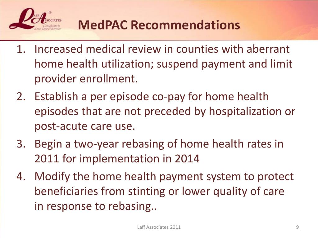 MedPAC Recommendations