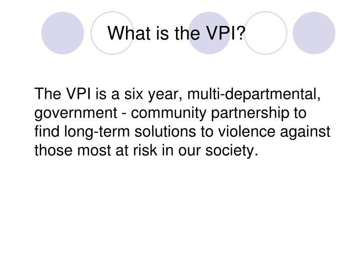 What is the vpi