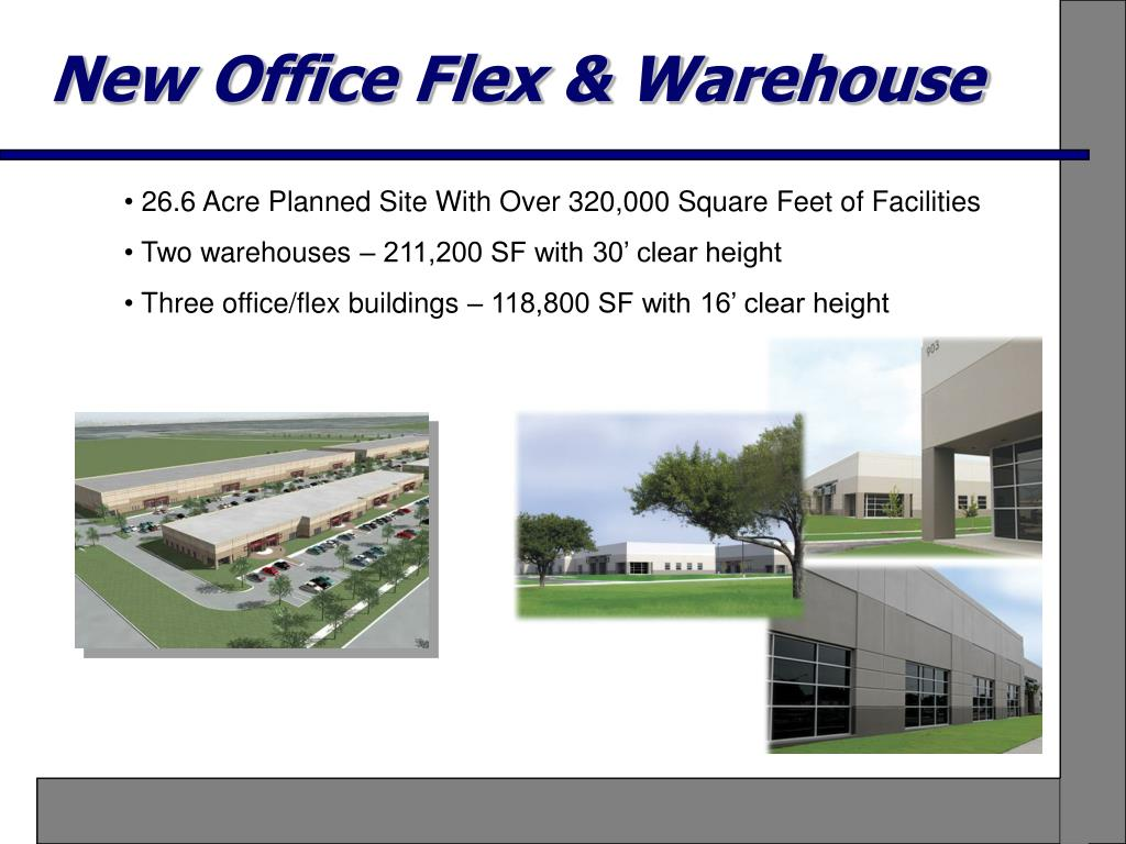 New Office Flex & Warehouse