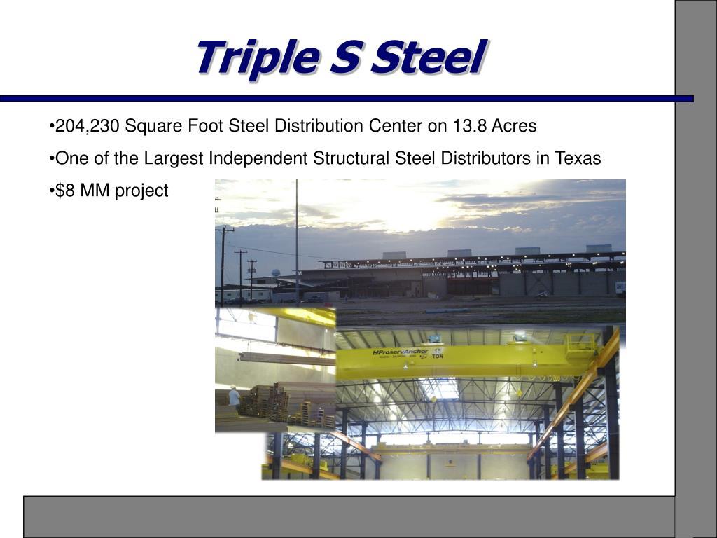 Triple S Steel