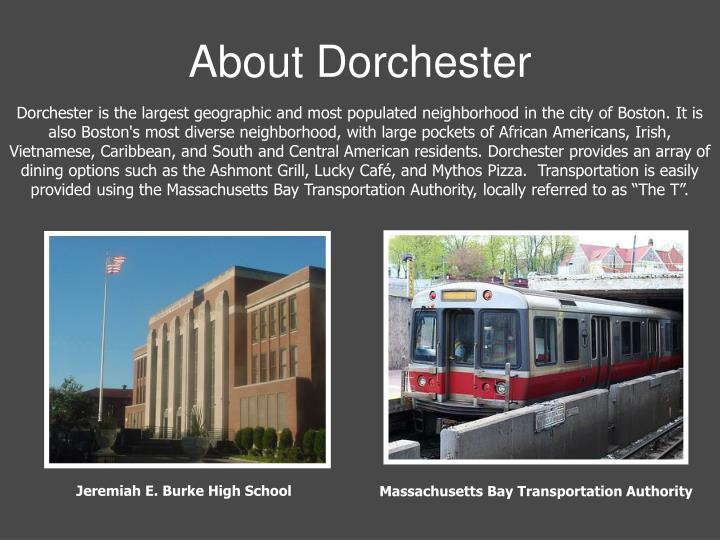About Dorchester