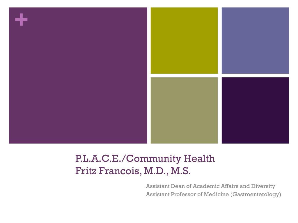 P.L.A.C.E./Community Health