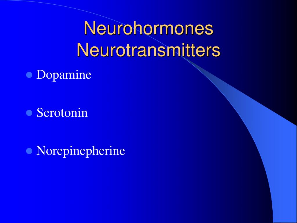 Neurohormones