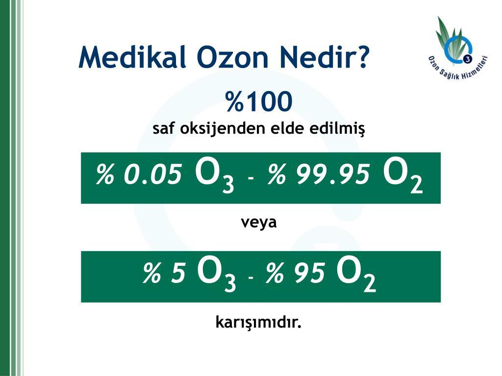 Medikal Ozon Nedir?