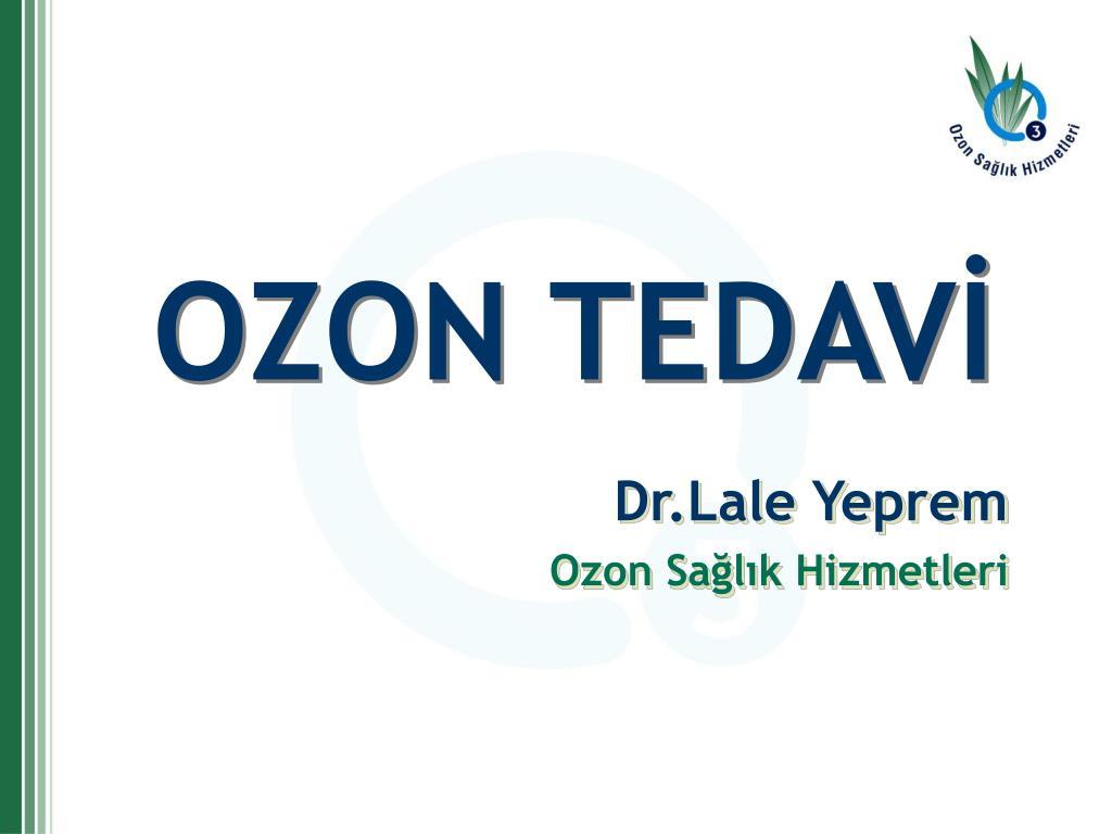 OZON TEDAVİ