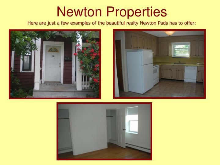 Newton Properties
