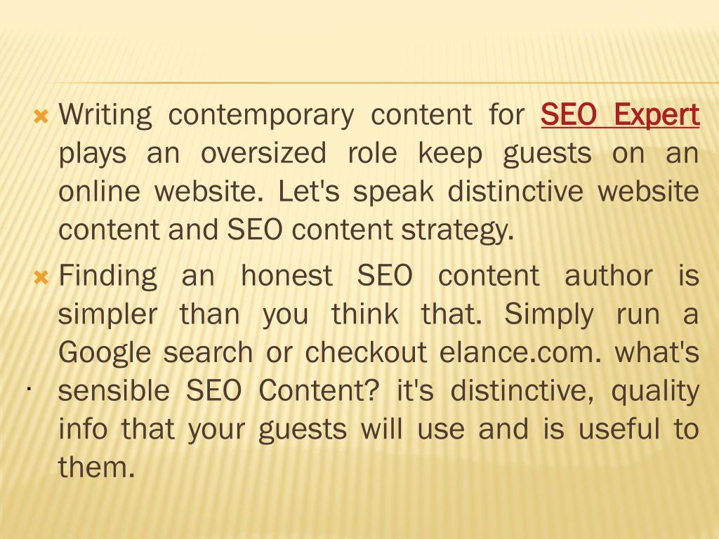 Writing contemporary content for