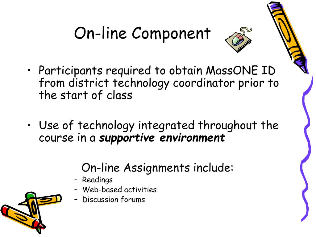 On-line Component