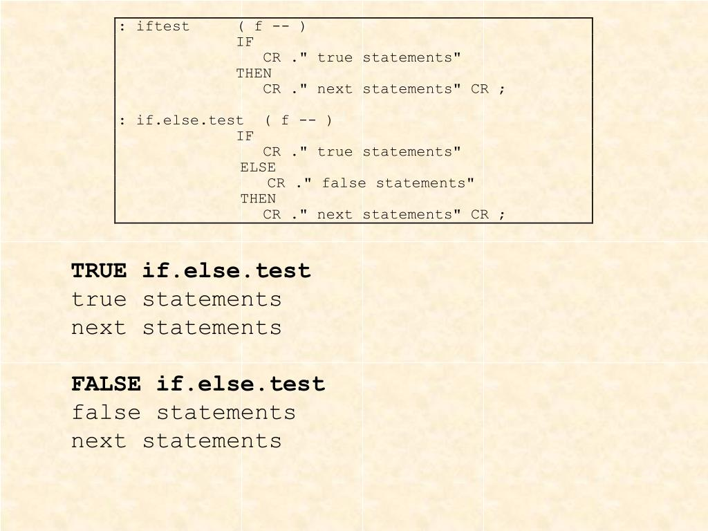 TRUE if.else.test
