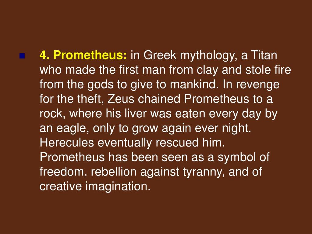 4. Prometheus: