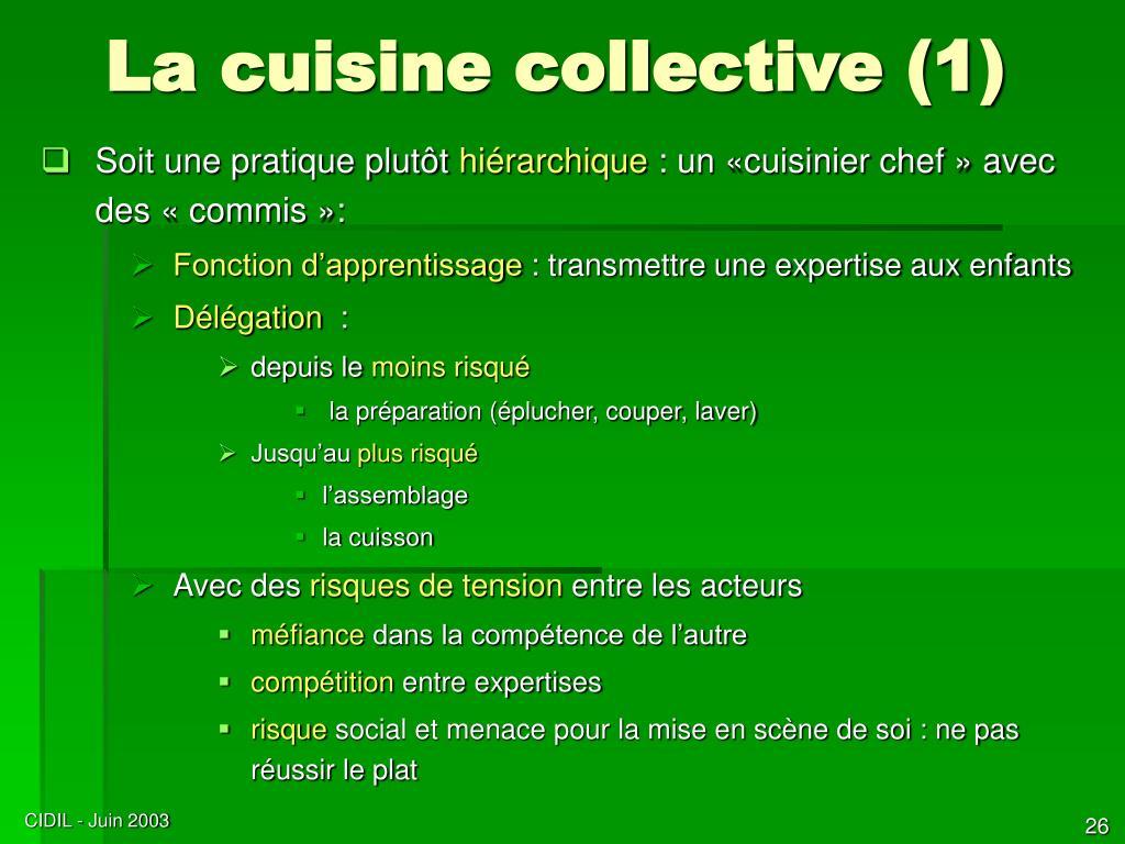 La cuisine collective (1)
