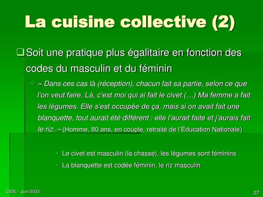 La cuisine collective (2)
