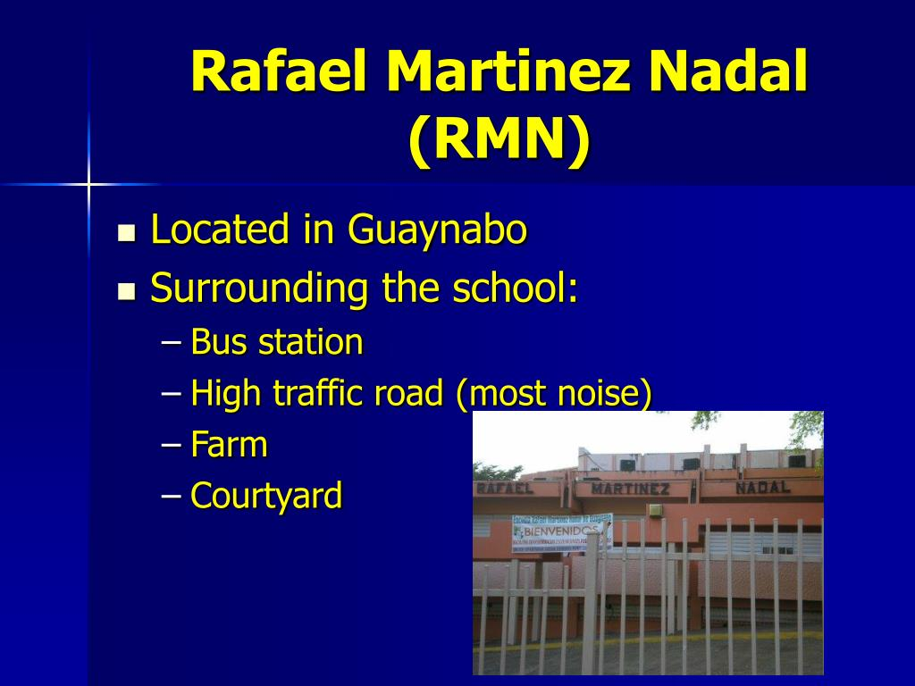 Rafael Martinez Nadal (RMN)