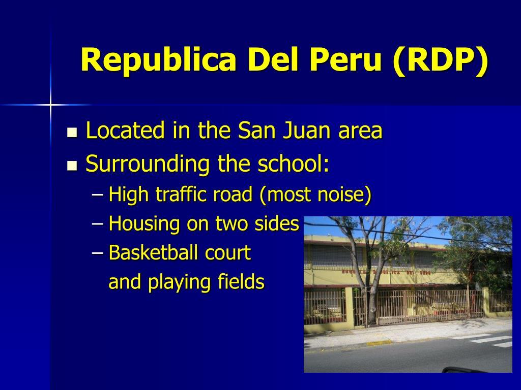 Republica Del Peru (RDP)