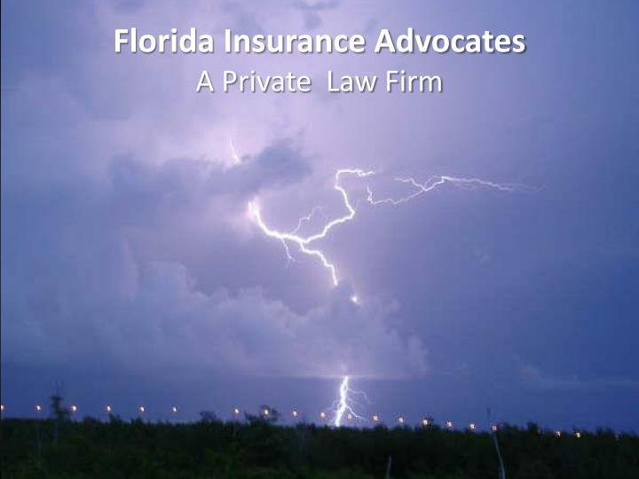 Florida Insurance Advocates