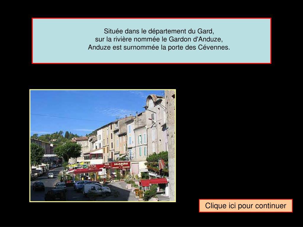 Située dans le département du Gard,