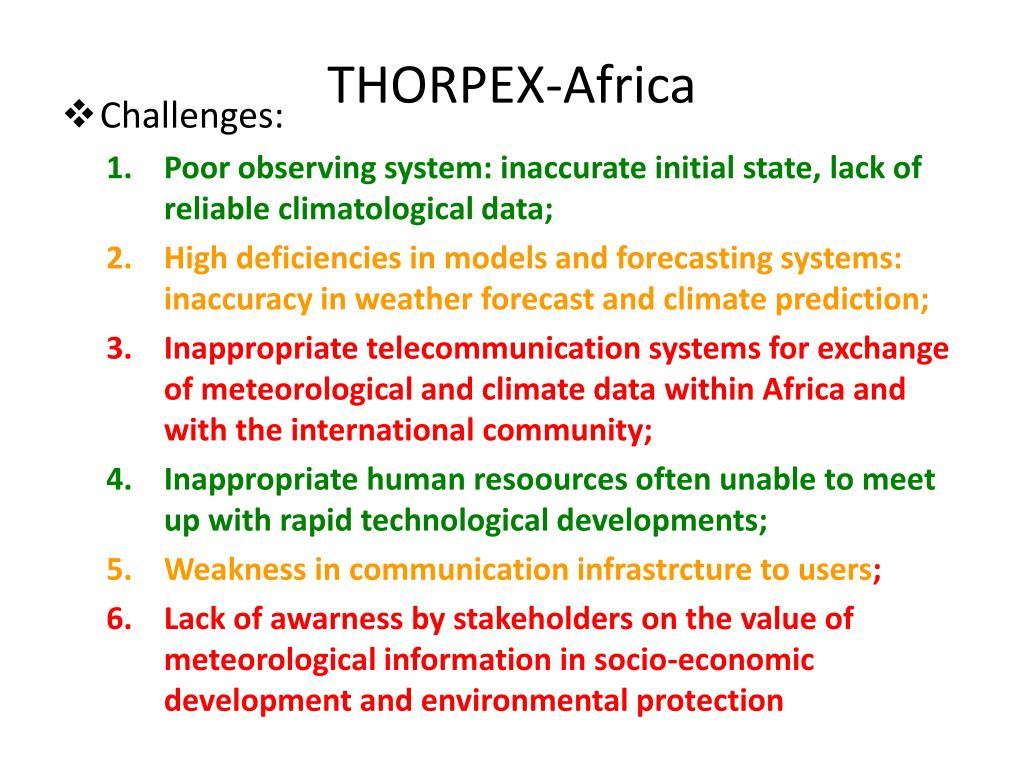 THORPEX-Africa