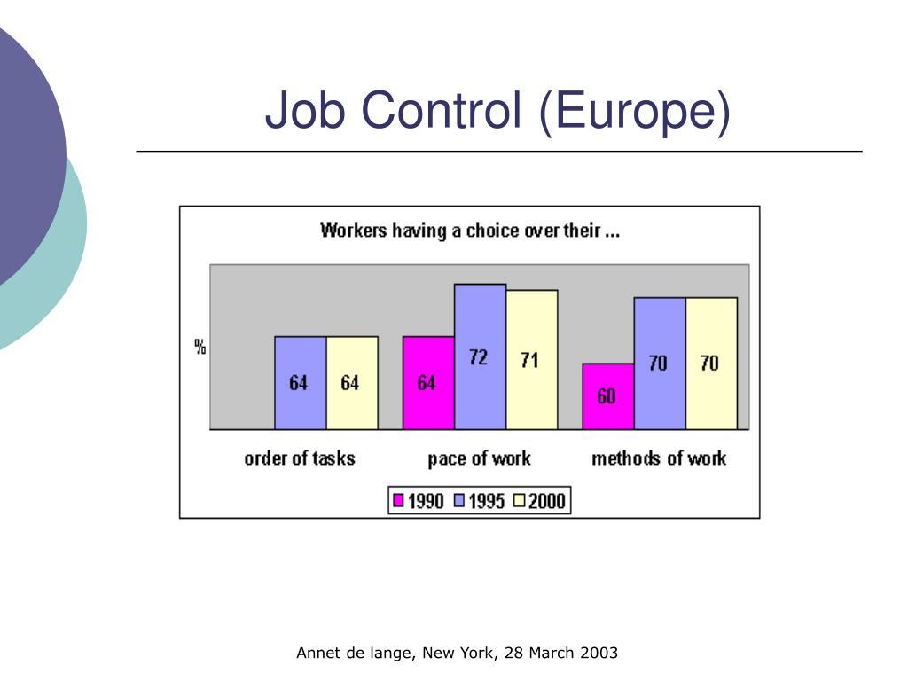 Job Control (Europe)