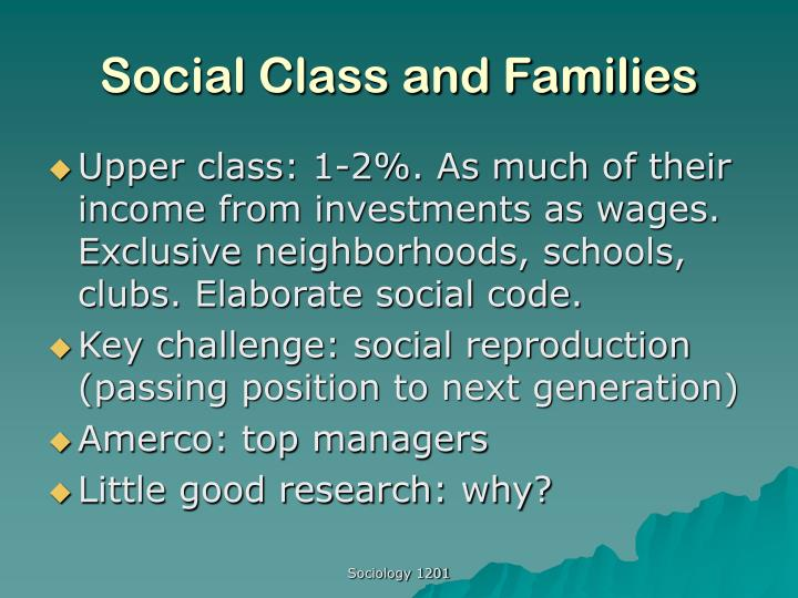Social class and families l.jpg