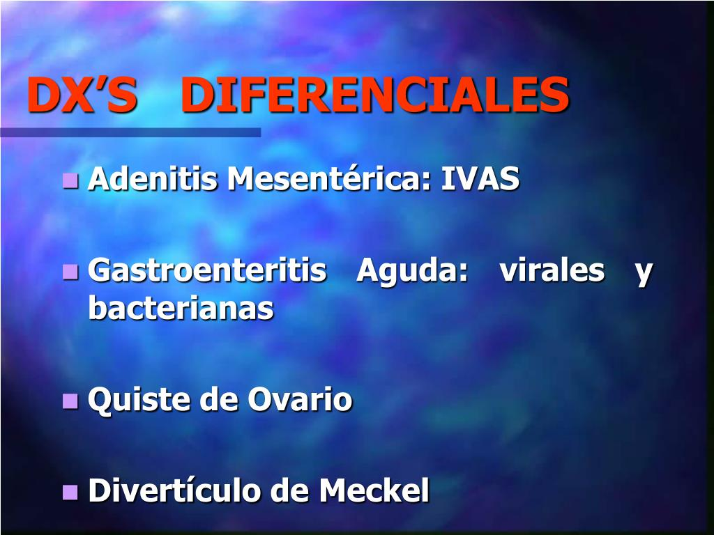 DX'S   DIFERENCIALES