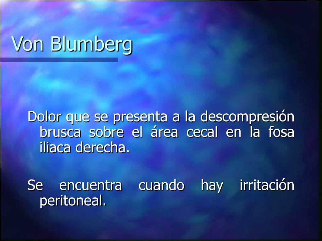 Von Blumberg