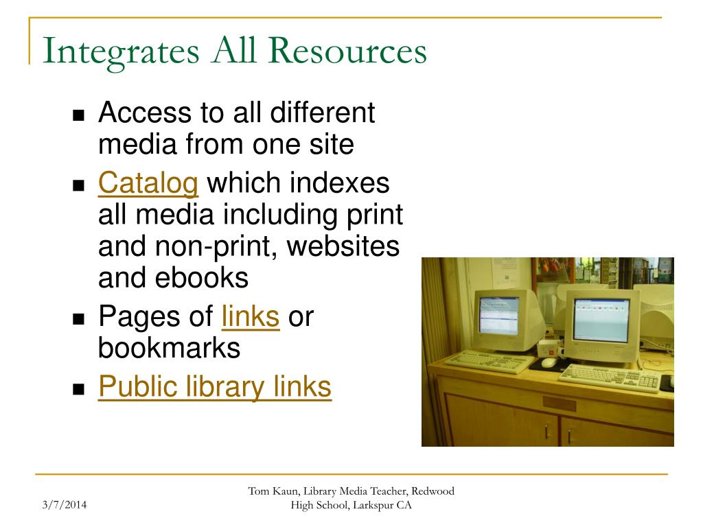 Integrates All Resources