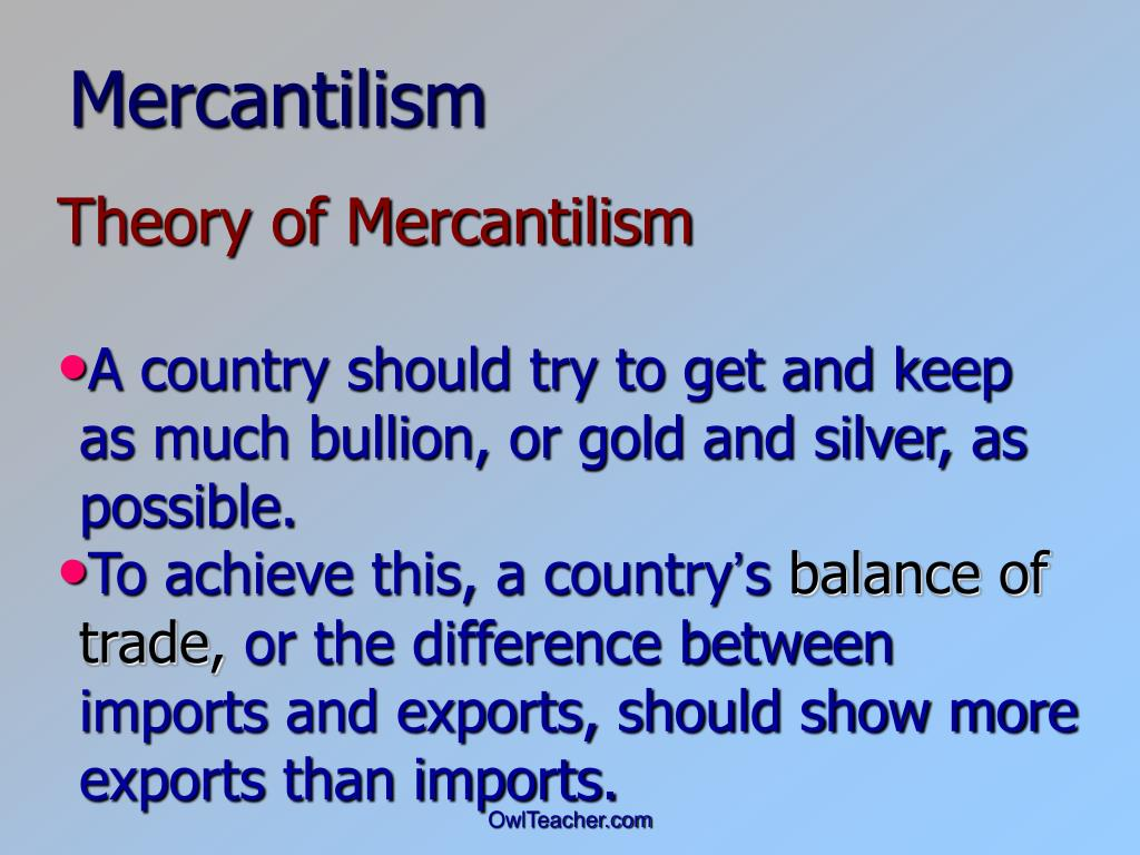 mercantilism effect on colonies The other colonial governments would often prohibit importing goods from european countries to keep markets strong positives of mercantilism the main positive effect from mercantilism was that the higher up countries became wealthier through the trading of their goods.
