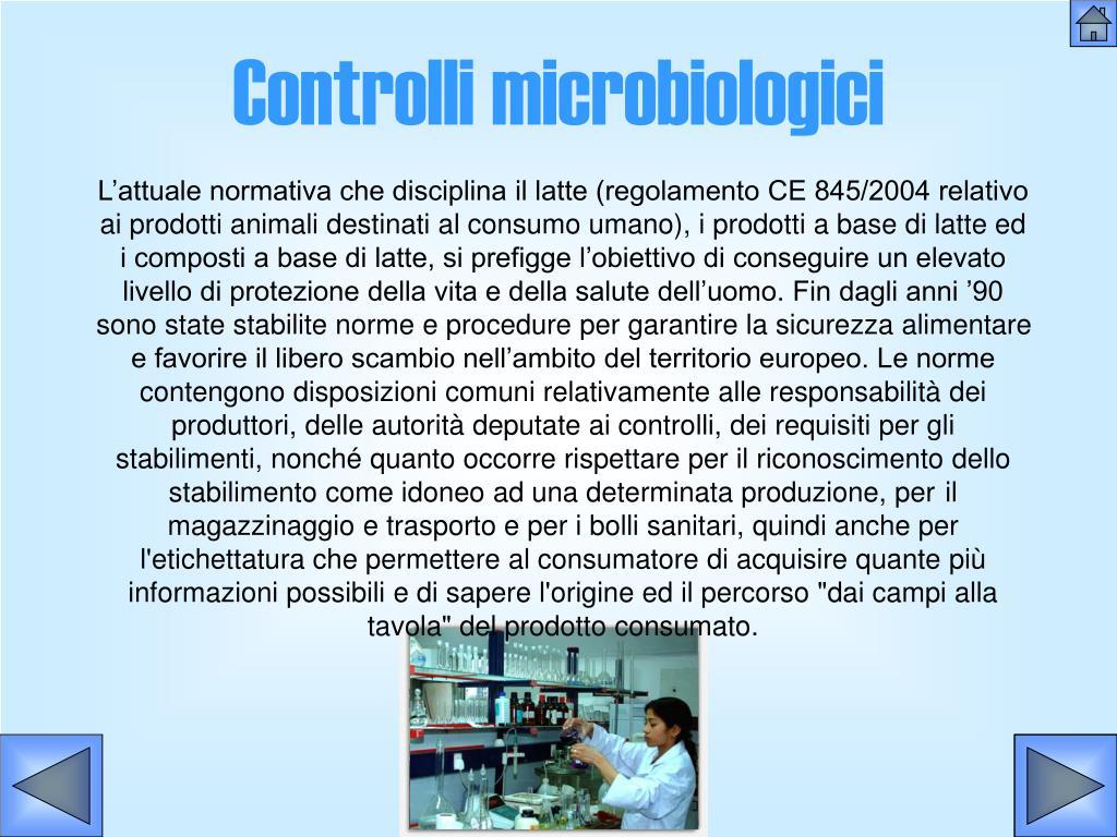 Controlli microbiologici