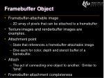 framebuffer object23