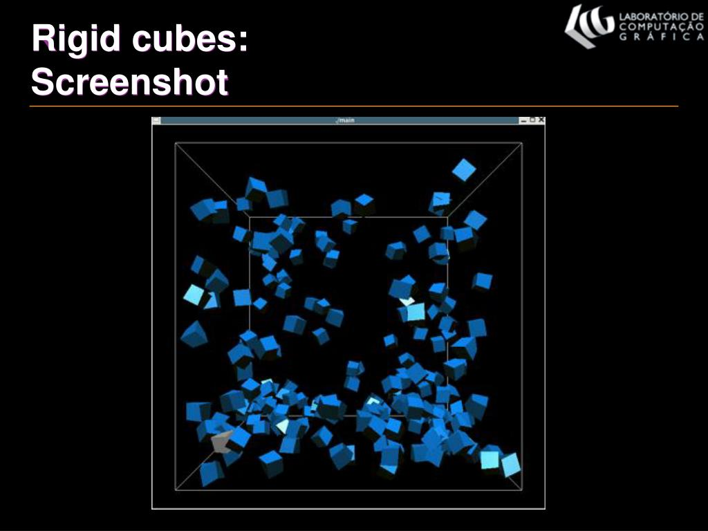 Rigid cubes: