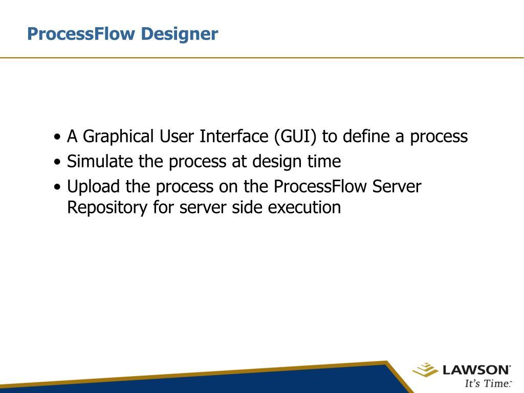 ProcessFlow Designer