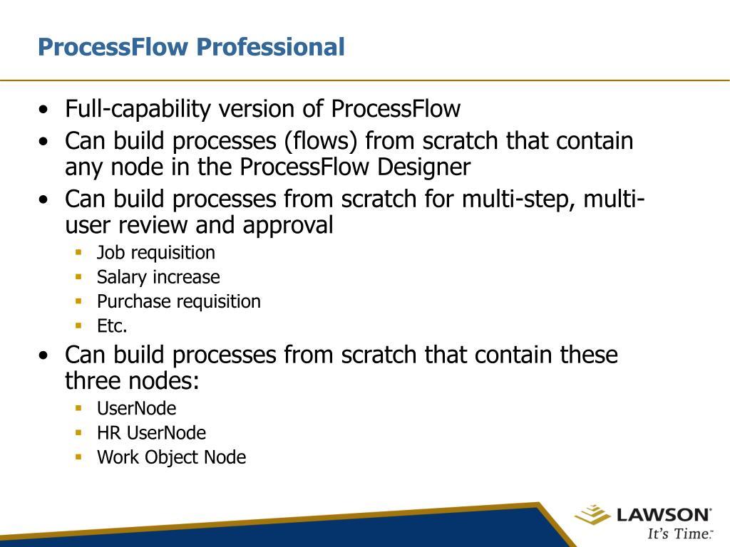 ProcessFlow Professional