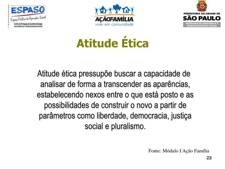 Atitude Ética