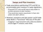 swaps and plan investors