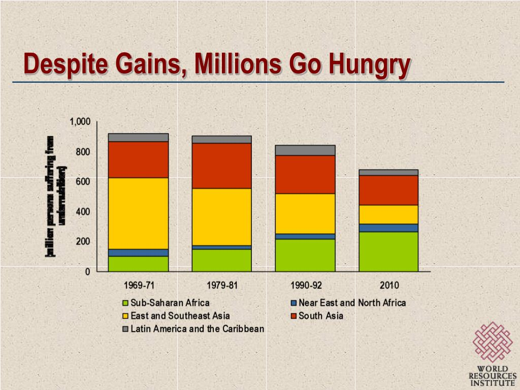 Despite Gains, Millions Go Hungry