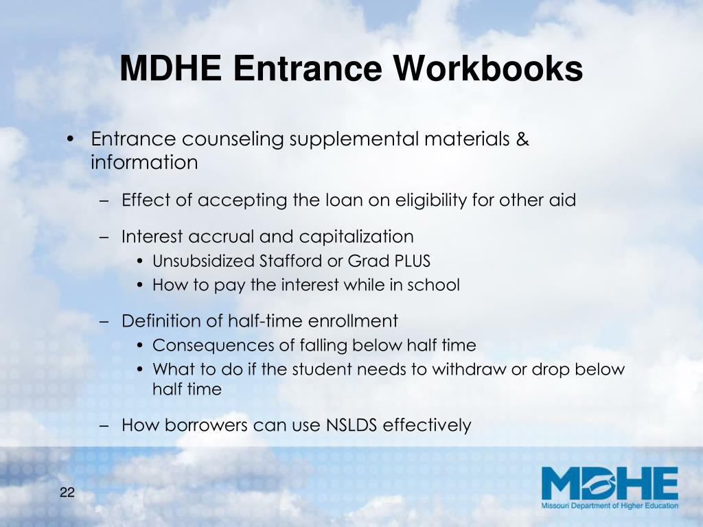 MDHE Entrance Workbooks