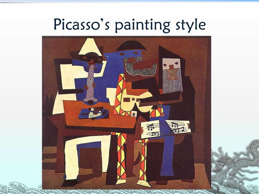 Picasso's painting style
