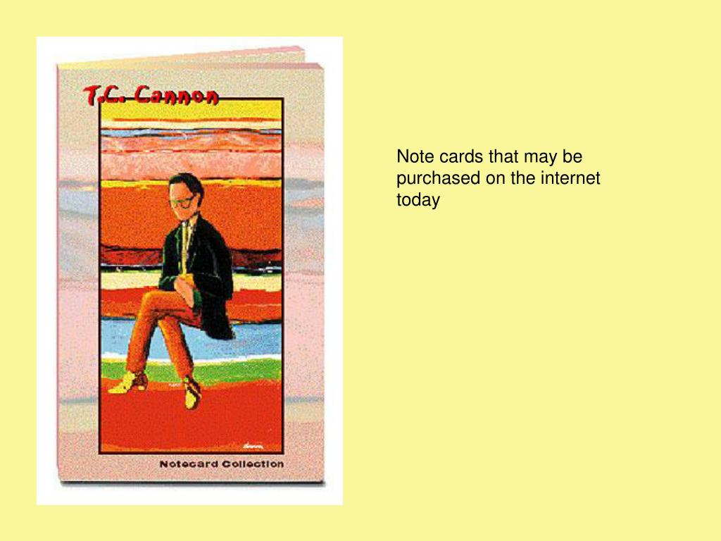 Note cards that may be purchased on the internet