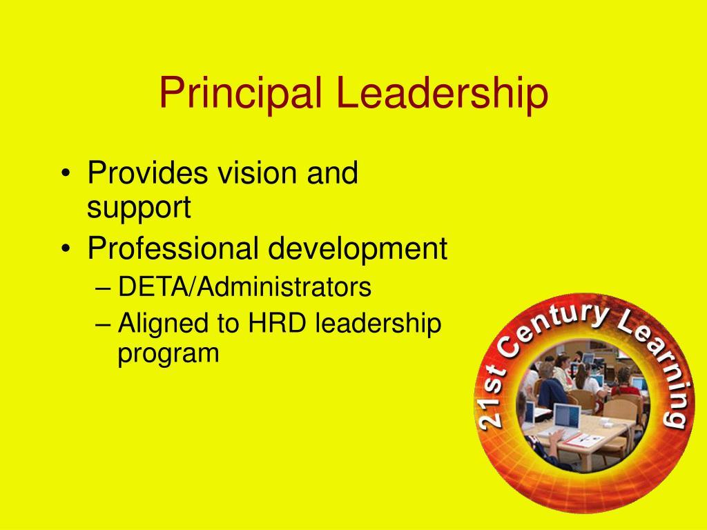 Principal Leadership