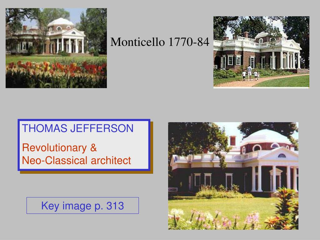 Monticello 1770-84