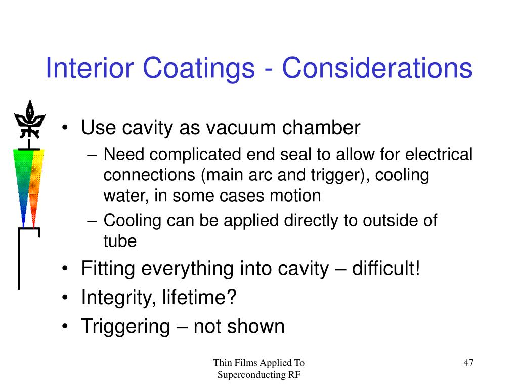 Interior Coatings - Considerations